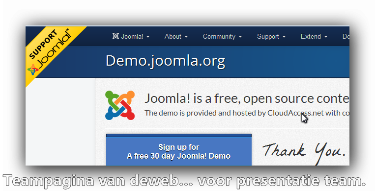 Joomla open source gratis?